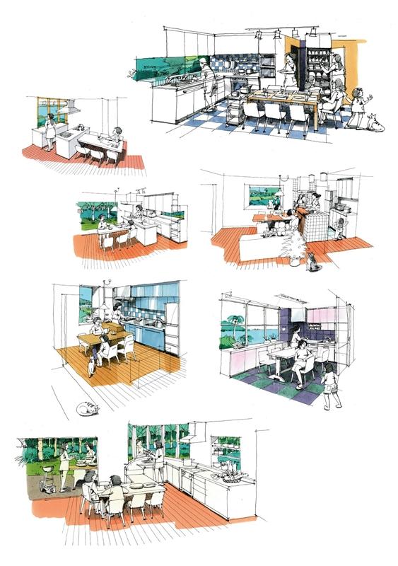 Dining-Kitchen room